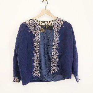 Vintage Cashmere Jacket Blazer